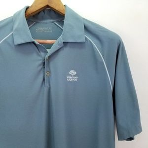 Nike Golf Fit Dry Shirt Large Ventana Canyon Logo